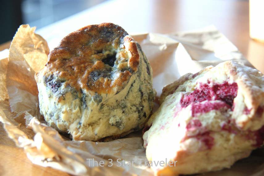 Scones from St. George's Variety Market in Belfast | The 3 Star Traveler