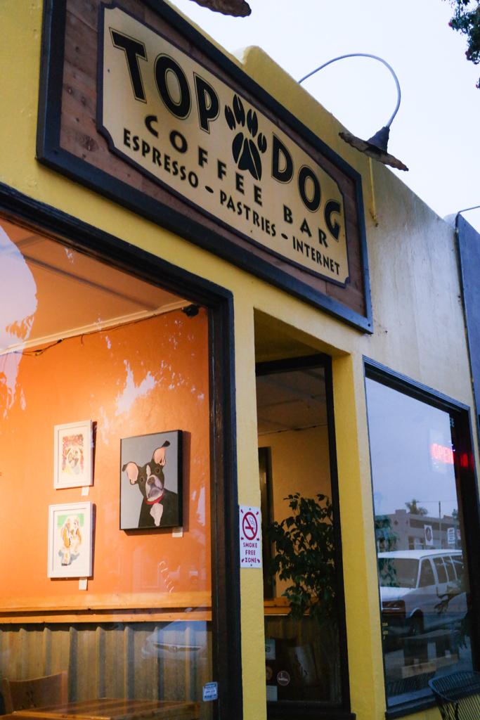 Top Dog Coffee in Morro Bay, California | The 3 Star Traveler