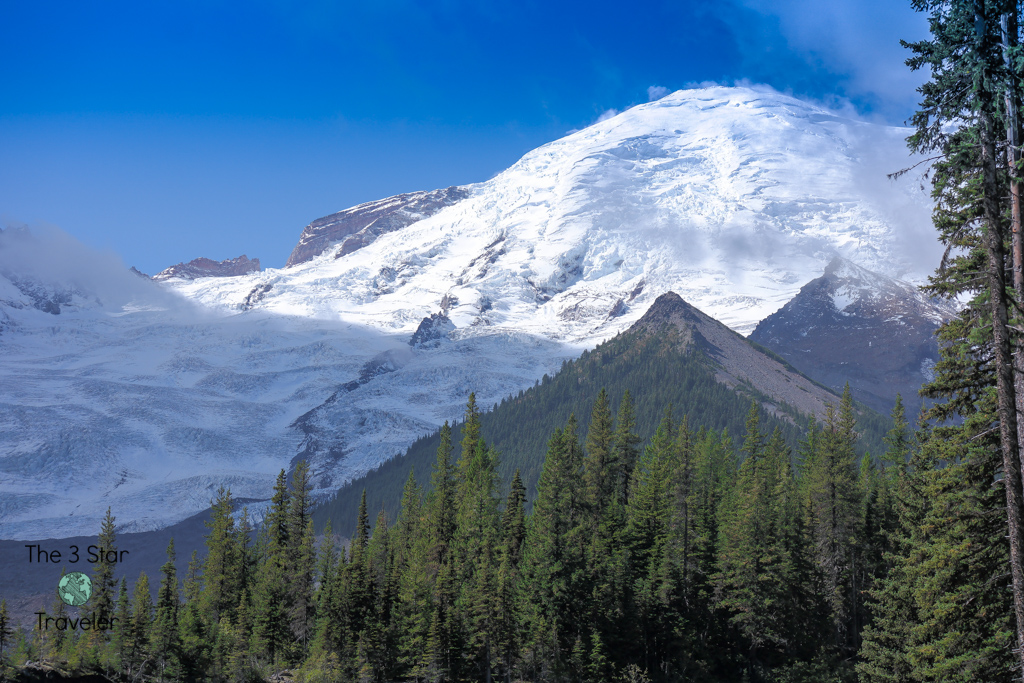 Glacier Basin Trail, Emmons Glacier, White River, Mount Rainier National Park | National Parks Tips | The 3 Star Traveler