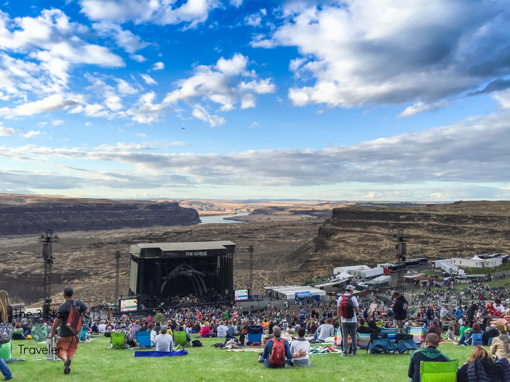 The Gorge Amphitheater in Washington | The 3 Star Traveler