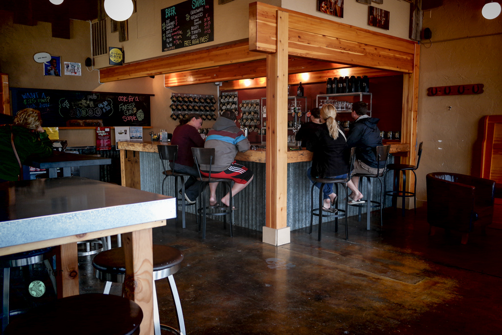 Tasting Room Iron Horse Brewery in Ellensburg, Washington