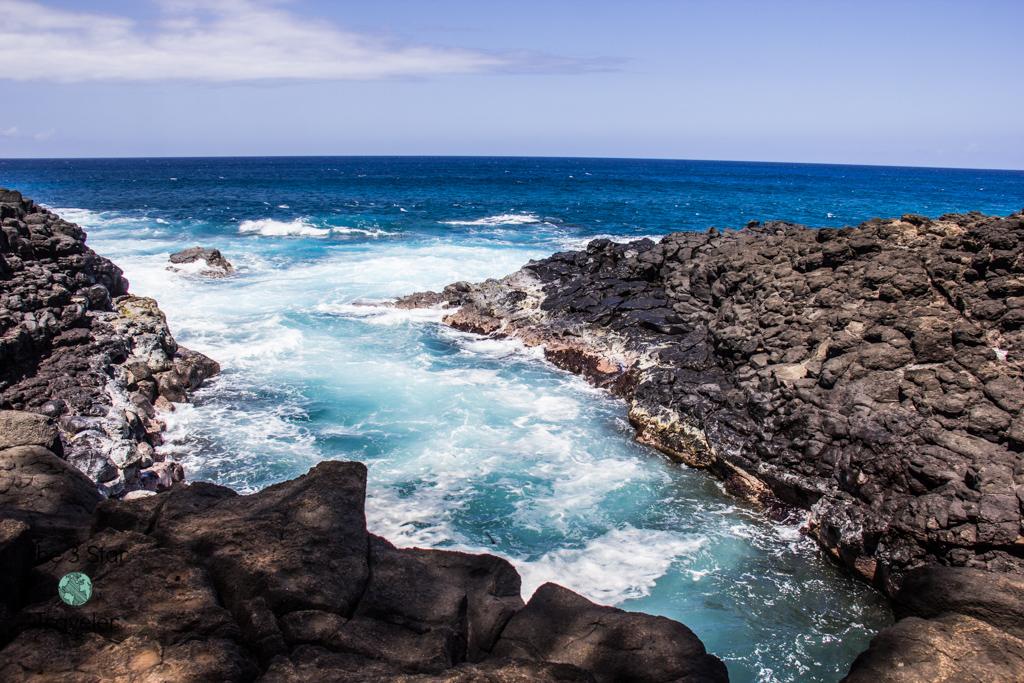 Queen's Bath Kauai | 5 Ways to Stay Active in Kauai | The 3 Star Traveler