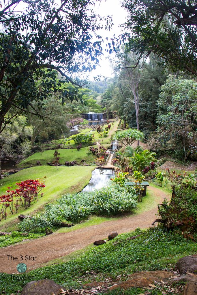 Stone Dam Kauai | 5 Ways to Stay Active in Kauai | The 3 Star Traveler