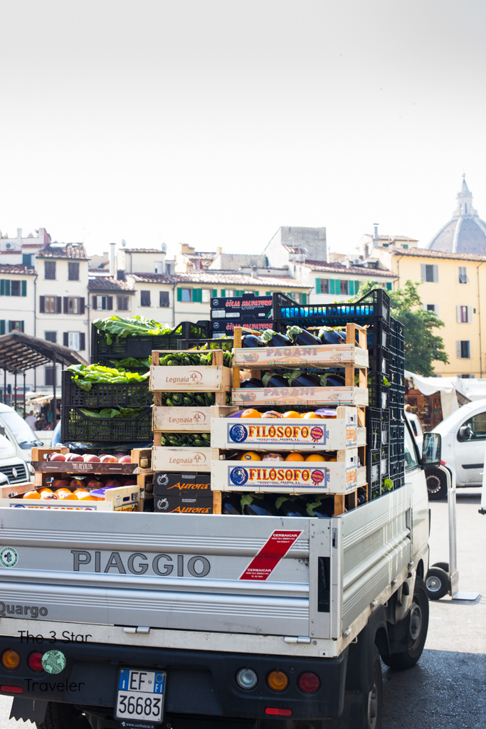 Outside Mercato Centrale | Florence, Italy | The3StarTraveler