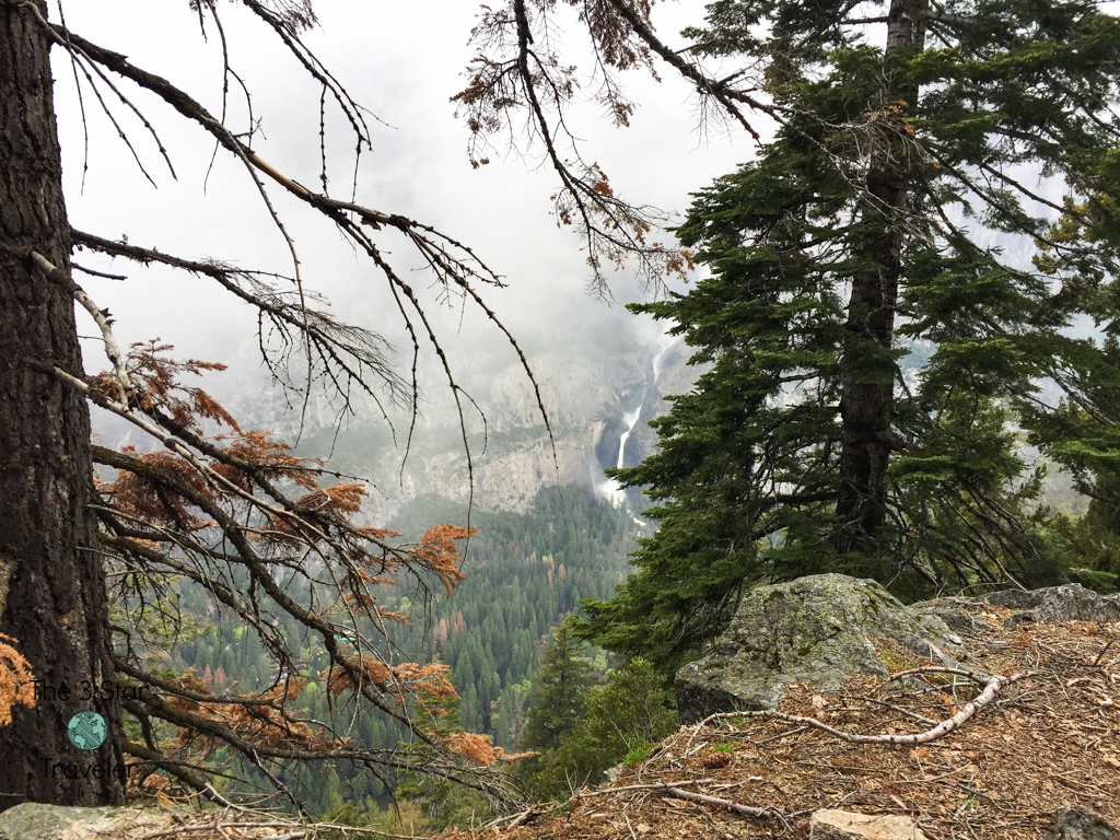 View from Four Mile Trail, Yosemite